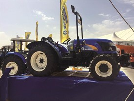 New Holland TD4040F at SIAM 2017