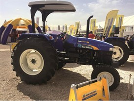 New Holland TT Series Tractor at SIAM 2017