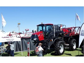 Case IH Patriot Sprayer at the NAMPO Show 2017