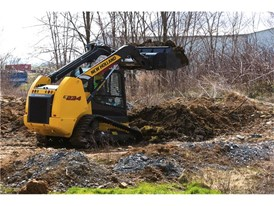 The new C234 Compact Track Loader