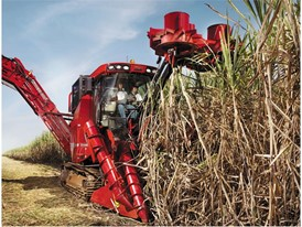 Case IH A8800 Sugarcane Harvester in Brazil