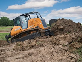 SiteControl CoPilot System on CASE 2050M Dozer
