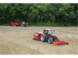 Case IH Maxxum conducting cultivation work