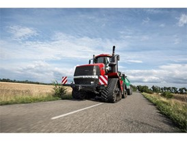New Quadtrac CVX on the road