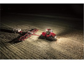 New Quadtrac CVX has an advanced lighting package with a broad spread of light