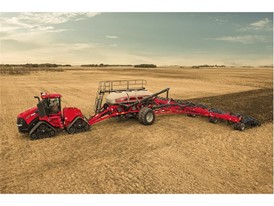 New Quadtrac CVX conducting field cultivation activities