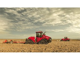 New Quadtrac CVX tractors working in the field