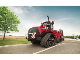 New Quadtrac CVX undertaking road transport