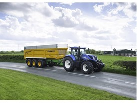 New Holland T7: Steering to a new level of control and comfort