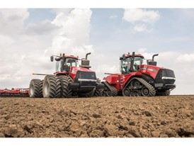 The new Steiger CVXDrive series tractor is available in 17 different configurations
