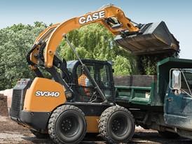 CASE SV340 loading truck