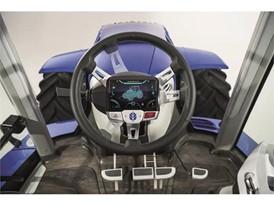 Interactive steering wheel cluster display