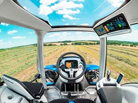 The state-of-the-art cab offers ergonomic operation and outstanding comfort