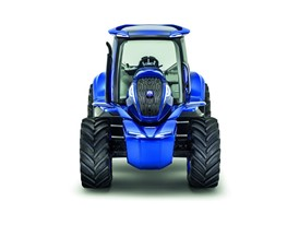 New Holland Methane Power Concept Tractor - Front On