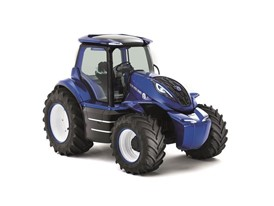 New Holland Methane Powered Concept Tractor - Right Front three quarter