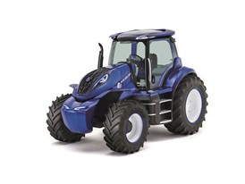 New Holland Methane Powered Concept Tractor - Left front three quarter