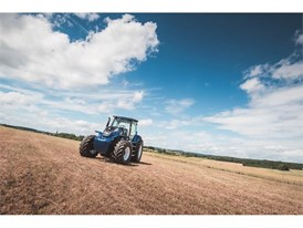 The methane powered concept tractor from New Holland