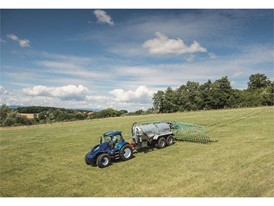 The liquid digestate is spread onto the fields as natural fertilizer