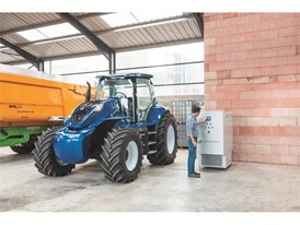 Methane filling is easily conducted on the farm