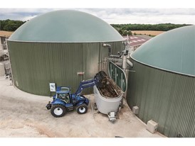 Biogas is created using a selection of ingredients, including animal waste