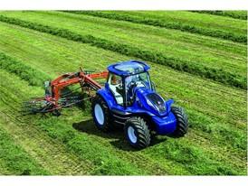 New Holland Agriculture представляет концепттрактора, работающий на метане, и демонстрирует свое рациональное видение бу