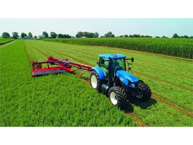 New Holland Agriculture Propane Power prototype tractor