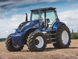 New Holland Agriculture Methane Powered Concept Tractor