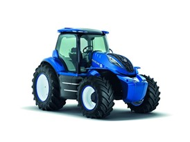 New Holland Methane Power Concept Tractor - Front Right 3/4