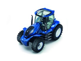 New Holland Methane Power Concept Tractor - Top  Left 3/4