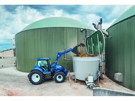 Energy crops, together with crop waste, animal waste and waste food are fed into the biodigester to create biogas