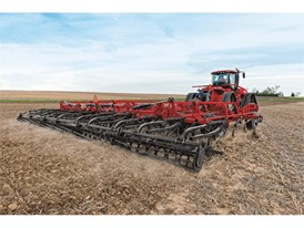 New harrow and rear hitch options for the Tiger-Mate 255 field cultivator