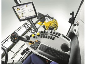 New Holland CX6 80 Tier4B Combine Control Panel