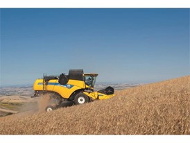 New Holland Agriculture CX5 90 showcasing its featured Opti-Speed™