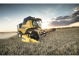 New Holland's CR Revelation Combine is the most powerful combine in the industry