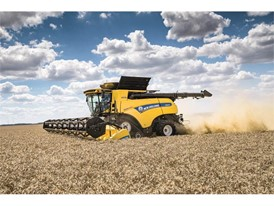 New Holland CR Revelation combine raises the harvesting stakes again