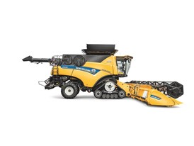 CR Revelation Combine Harvester Side View