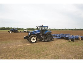 Tractors from New Holland's T8, T8 SmartTrax, T7 and T6 ranges will be showcased at Tillage-Li