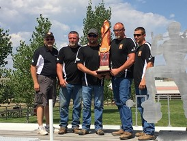 The four-person team winner for 2017 National Gas Rodeo was Intense Ignition