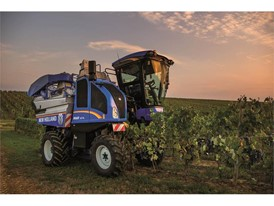 New Holland Braud 9000 grape harvester