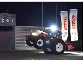 STEYR 6165 CVT during the showcase event