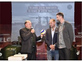 Brand President Case IH & STEYR Andreas Klauser, Alexander Horst, Clemens Doppler