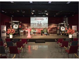The Experience Center in the St. Valentin factory plant for STEYR's 70th anniversary