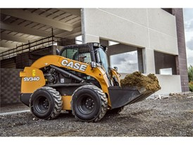 Case Construction SV340 Skid Steer Loader