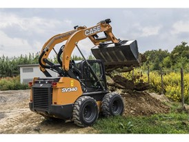 CASE upgrades skid steer loaders to the SV340