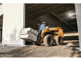 The radial lift SR270 Skid Steer Loader