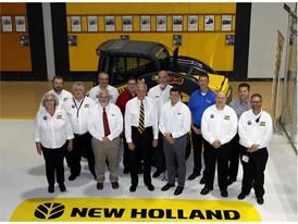 U.S. Senator Jerry Moran visits CNH Industrial's Wichita, Kansas plant