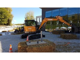"In ""LITTLE BIGHORN"", competitors had to control a CX60C mini excavator located in a fixed position to pick up golf balls"