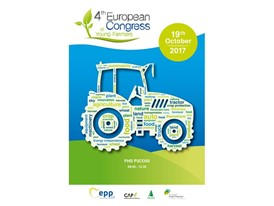 New Holland renews its partnership for the Fourth European Congress of Young Farmers
