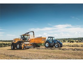 New Holland's T6 Methane tractor is a milestone of the Brand's Clean Energy Leader® strategy