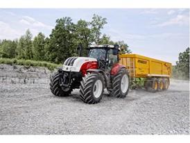 Steyr 6240 CVT Road Transport